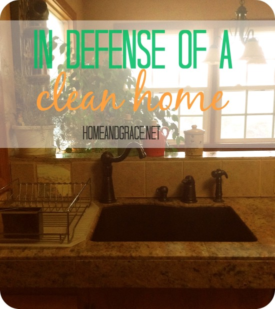 In defense of a clean home