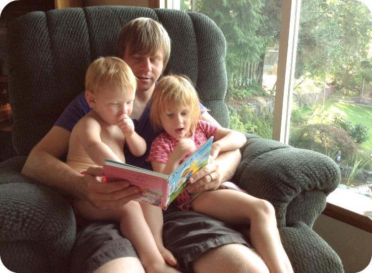 daddy reading