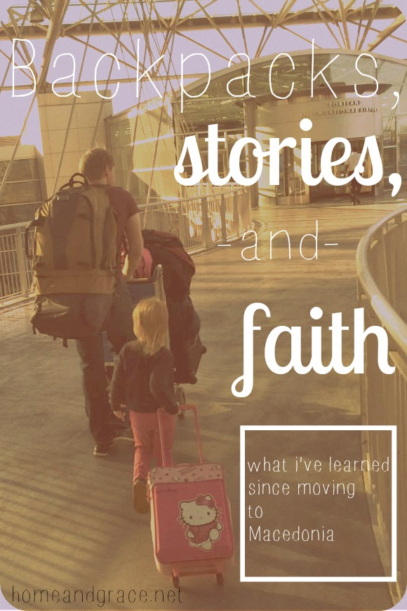 Backpacks, stories and faith